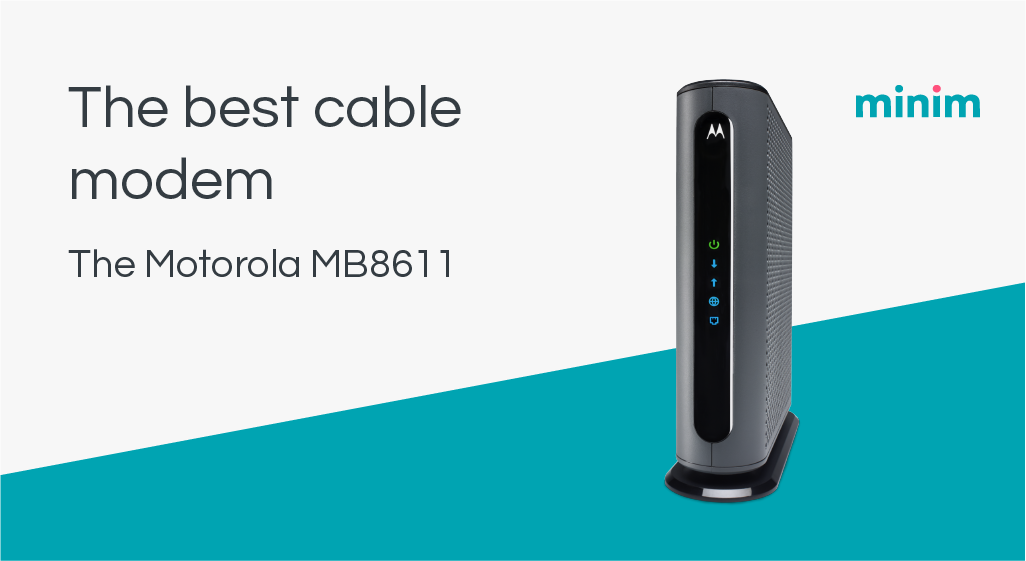 Best cable modem - MB8611