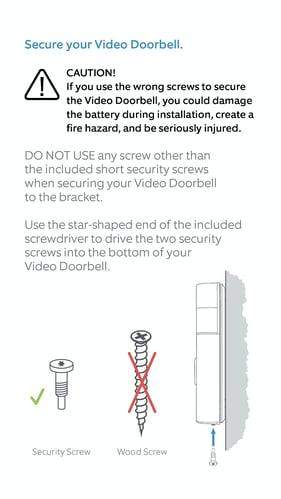 RIng manual screws