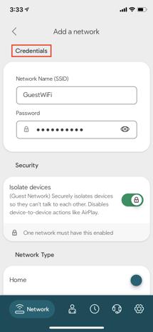 """ALT: """"Minim-app-screenshot-network-overview-add-network-credential.jpeg."""""""