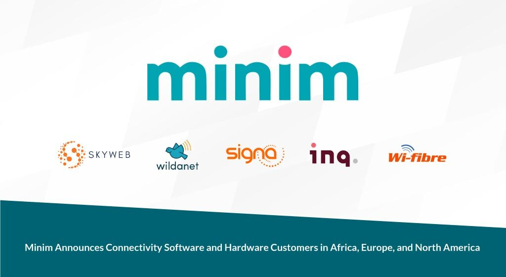 Minim announces connectivity software and hardware customers