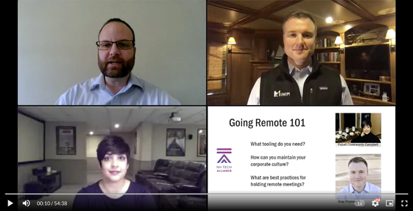 NH Tech Alliance Webinar: Going Remote 101