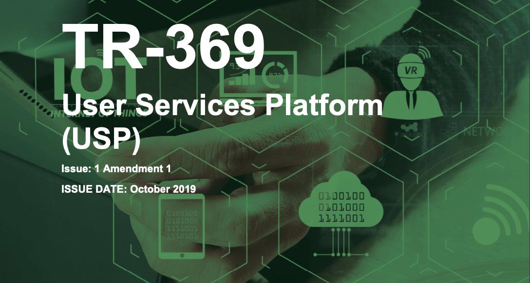 TR-369 User Services Platform Specification