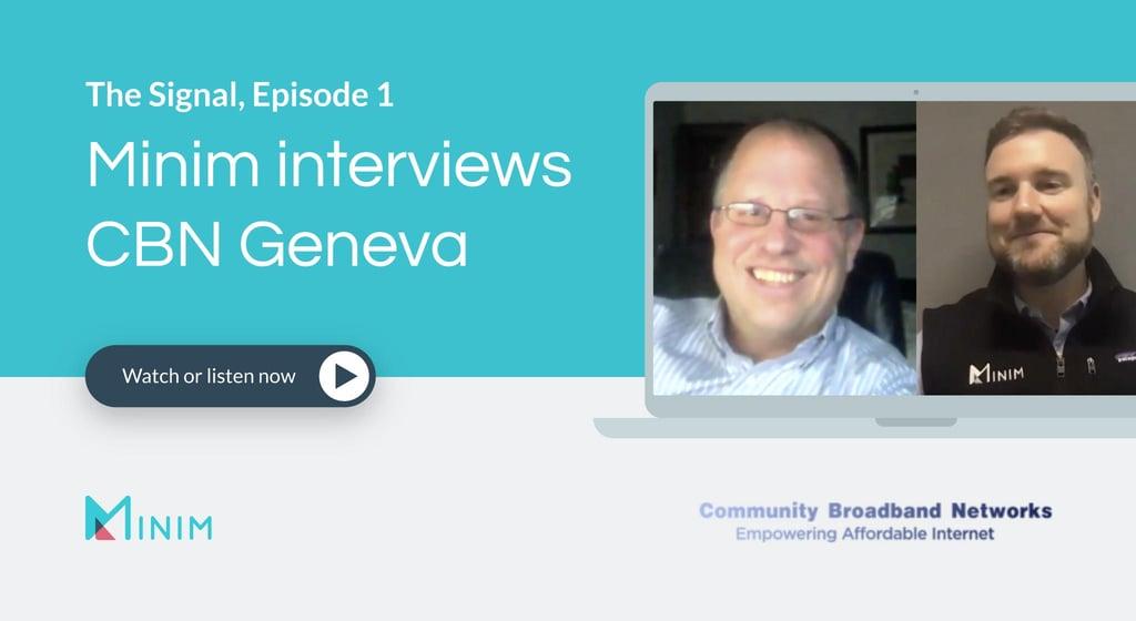 The Signal, Episode 1: Minim interviews CBN Geneva