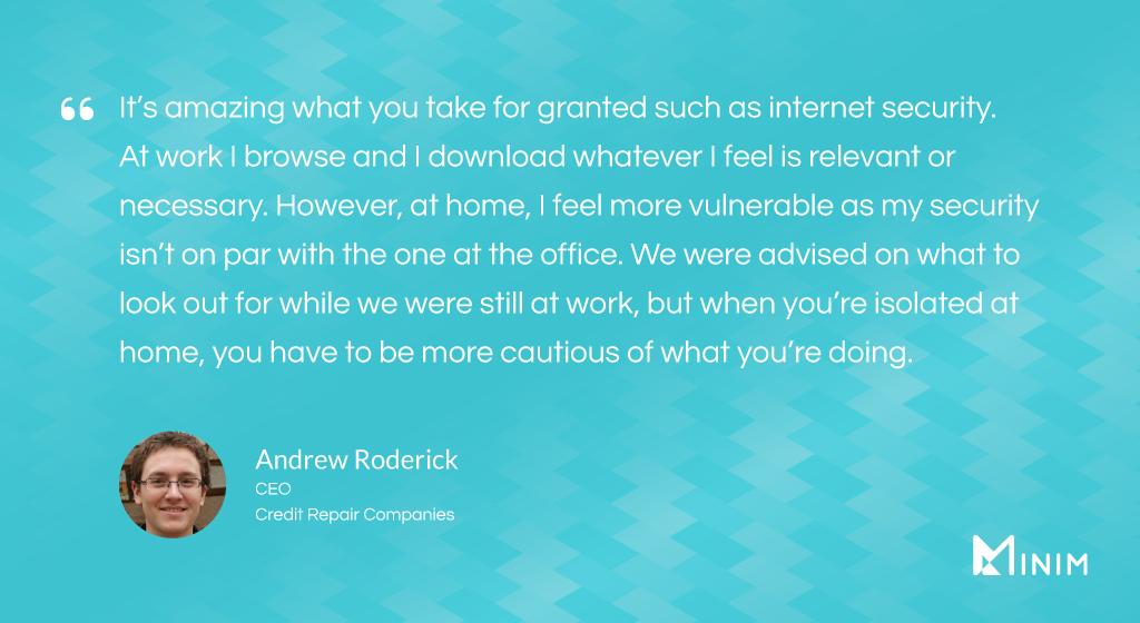 Andrew Roderick, CEO at Credit Repair Companies
