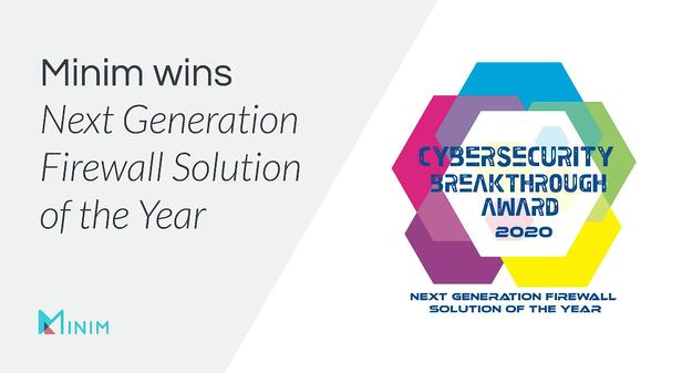 Next-Gen Firewall Solution of the Year 2020