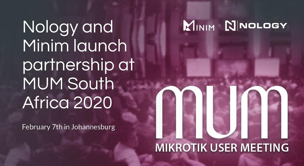 Nology and Minim launch partnership at MUM South Africa 2020