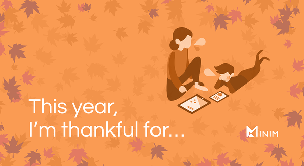 This year, I'm thankful for...
