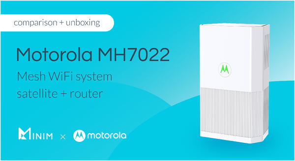 Motorola MH7022 comparison and unboxing