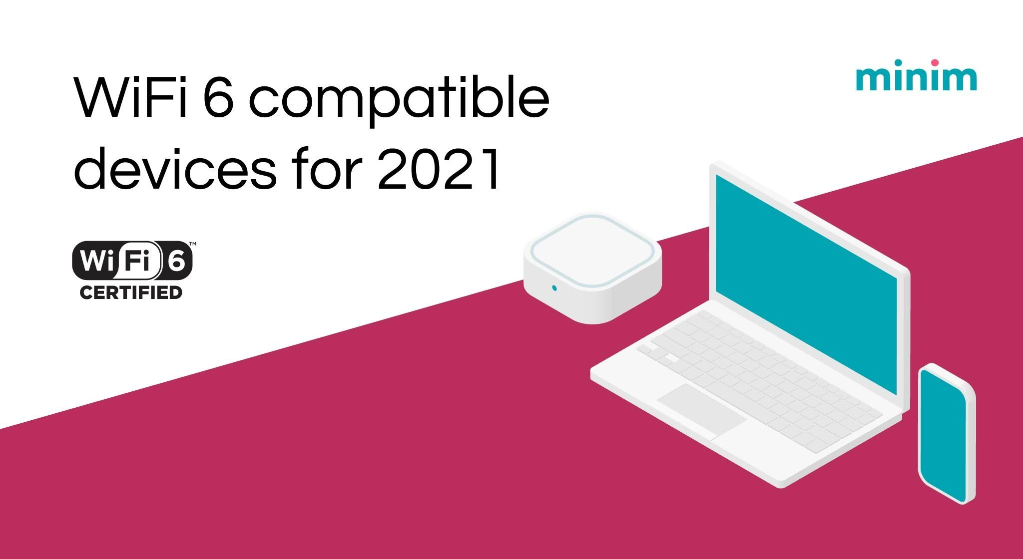 WiFi 6 compatible devices for 2021